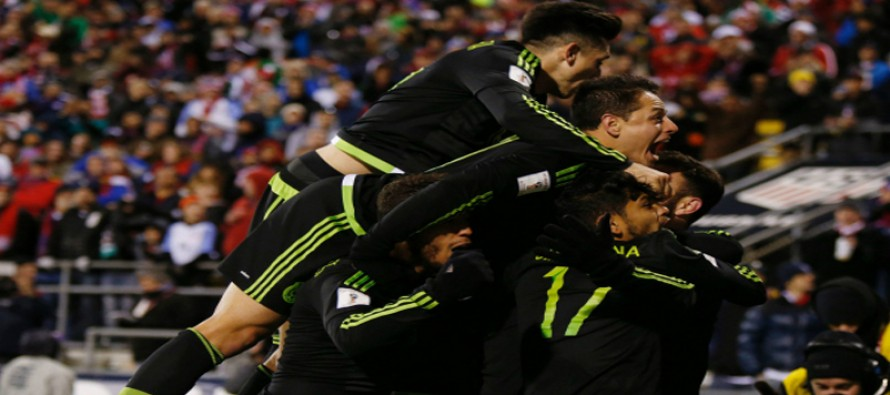 Marquez sinks US as Mexico snatch thriller