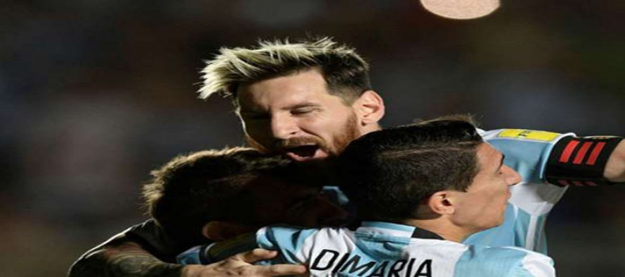 Messi magic sparks Argentina, Brazil march on