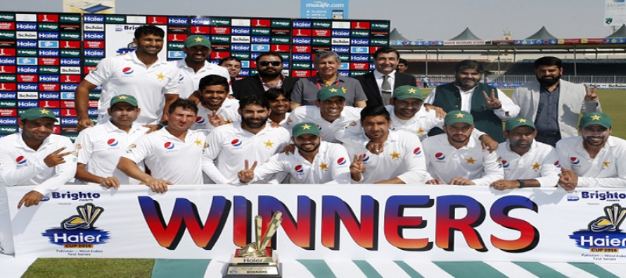 Pakistan lose two points, but, maintain second position in test ranking