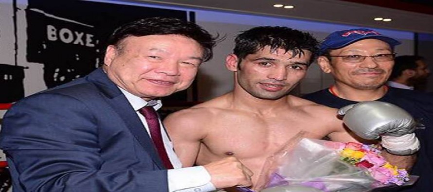 Waseem is all set to defend his WBC Silver Flyweight title