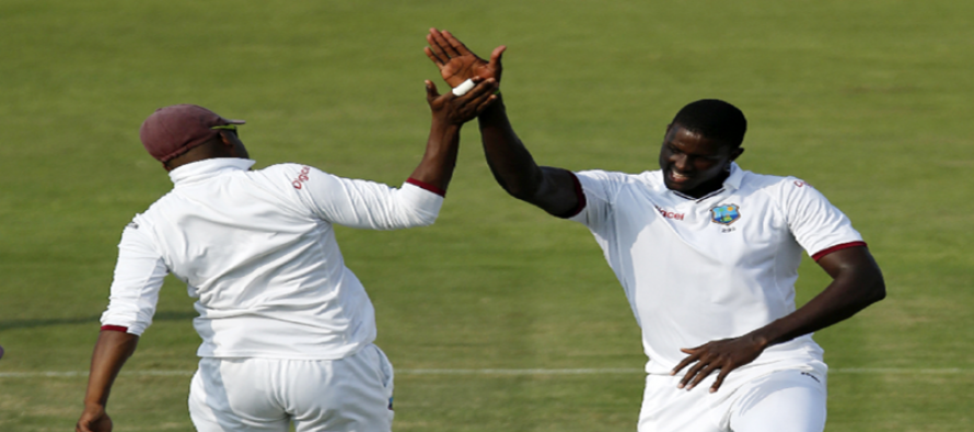 West Indies in driving seat