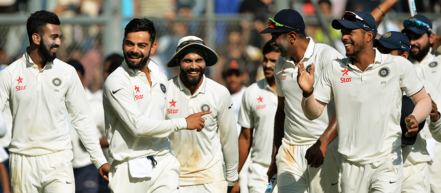 India crush England to clinch Test series