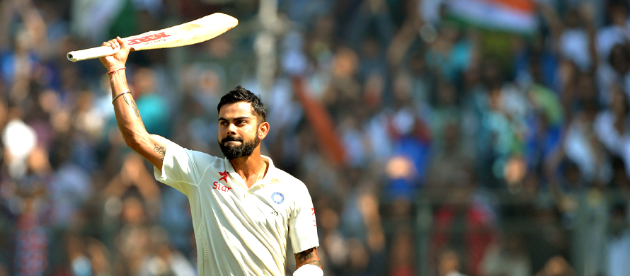 Kohli offers vision of India future
