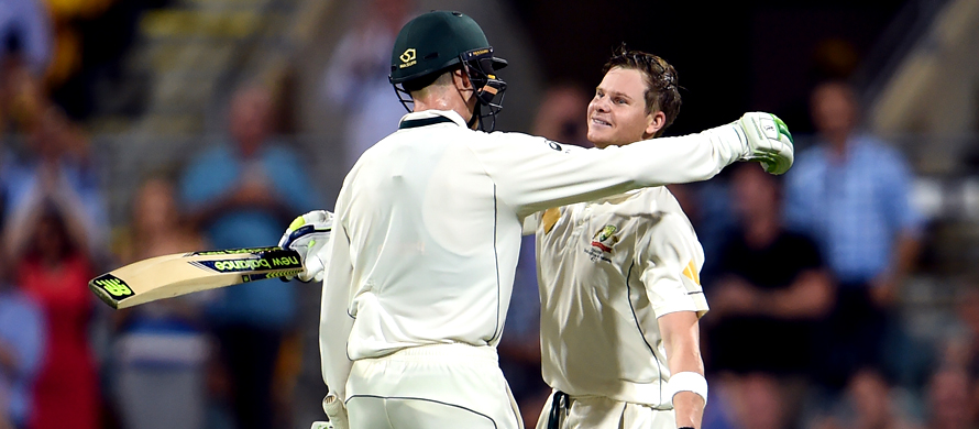 Another Smith ton puts Australia in command