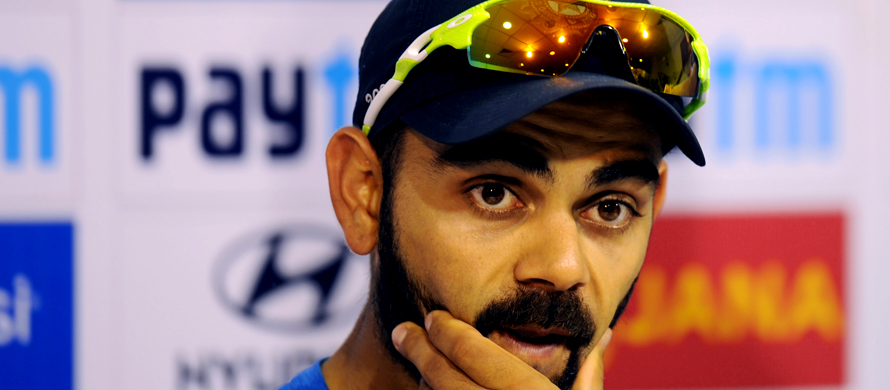 Kohli urges India to 'leave mark on world cricket'