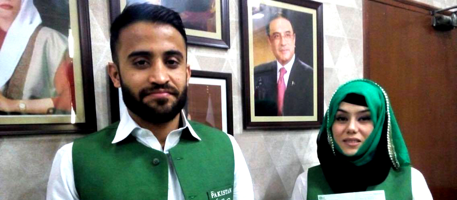 Sindh sports minister honours karate champions
