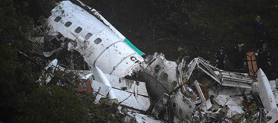 Football plane in Colombia crash was running out of fuel: recording