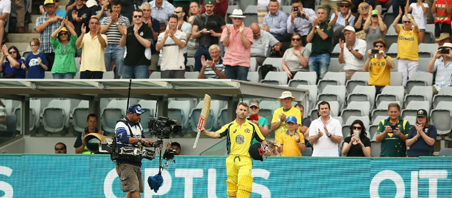 Warner century as Australia reclaim series over NZ