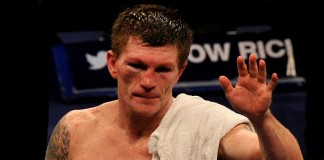 Former world boxing champion Ricky Hatton