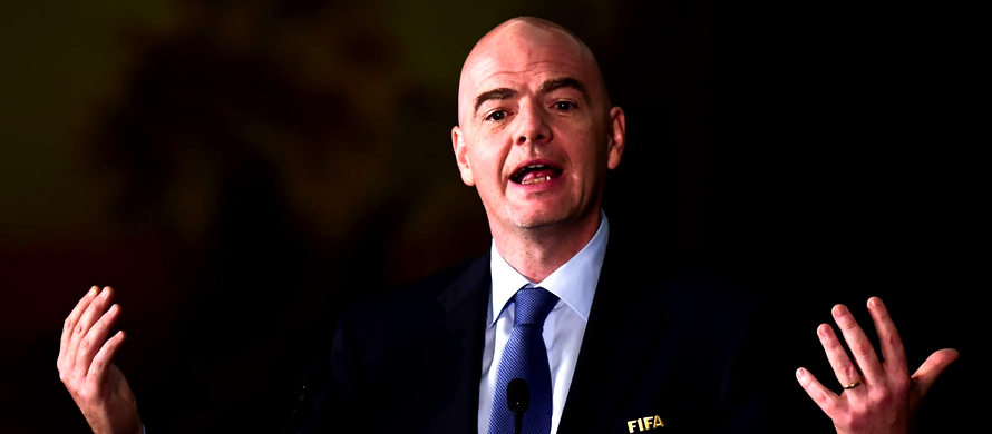 FIFA chief Gianni Infantino