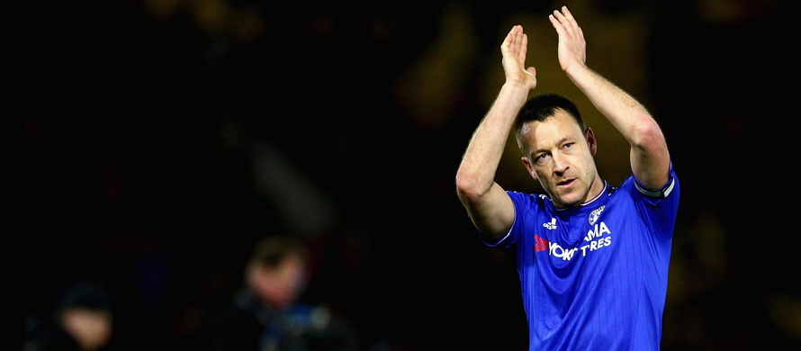 Terry is all gold for Chelsea manager Conte
