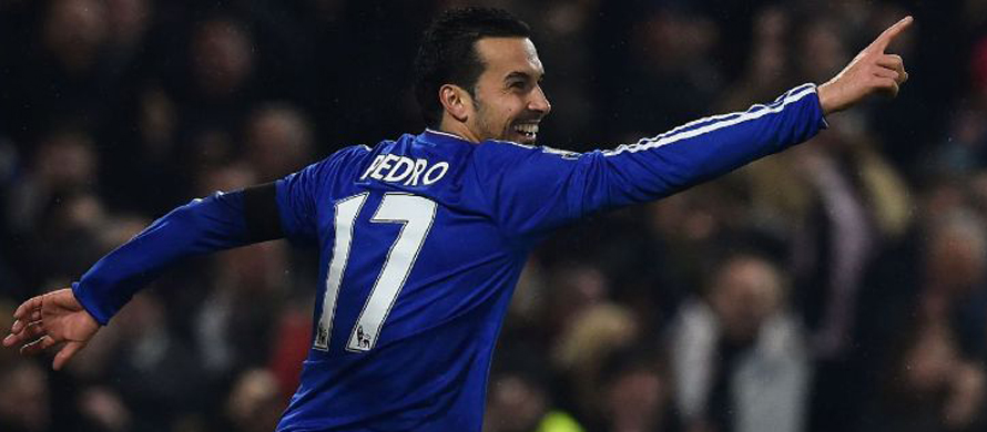 Pedro double fires record-breaking Chelsea