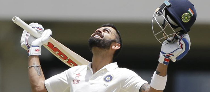 Virat Kohli jumps to 2nd in batting chart