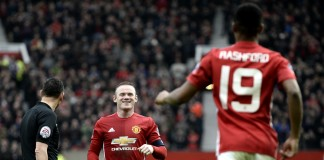 Rooney record in United rout, Leicester win at Everton