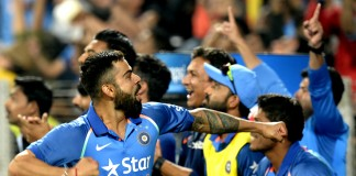 Kohli, Jadhav hundreds help India eclipse England's 350