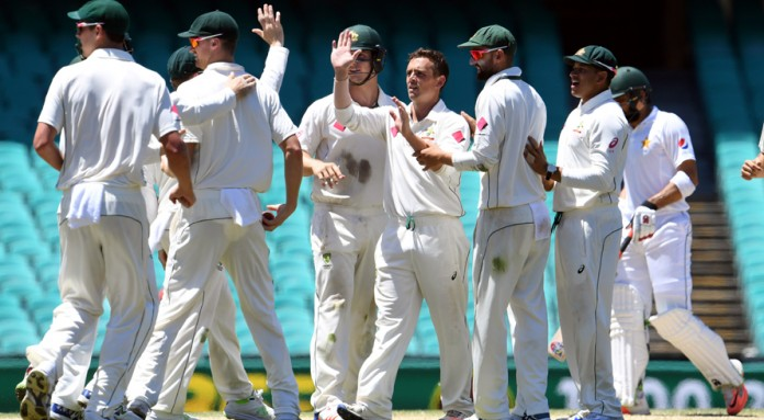 Australia beat by 220 runs Pakistan to sweep Test series