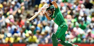 Pakistan set a target of 264 runs for Australia in the third ODI