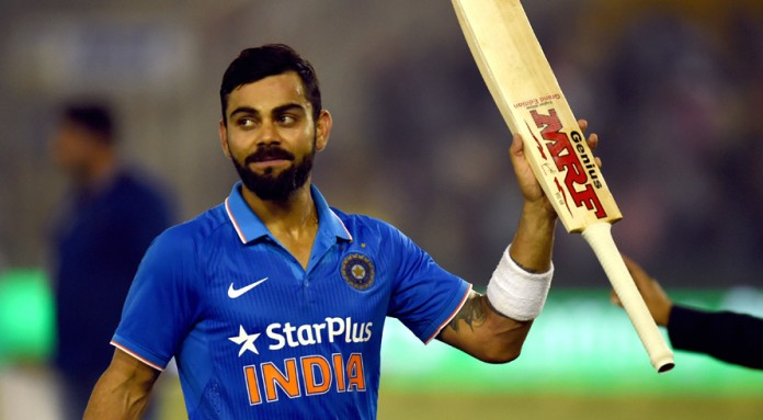 Kohli named new India limited overs skipper