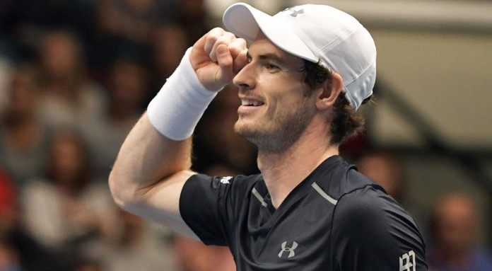 Murray in a hurry at Aussie Open