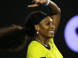 'Being Serena' helps Williams power on
