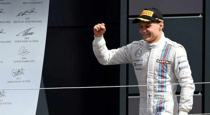 Bottas joins Hamilton in 'dream' Mercedes move