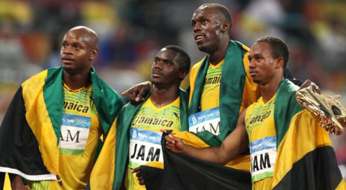 Bolt returns gold medal from 2008 4x100 relay