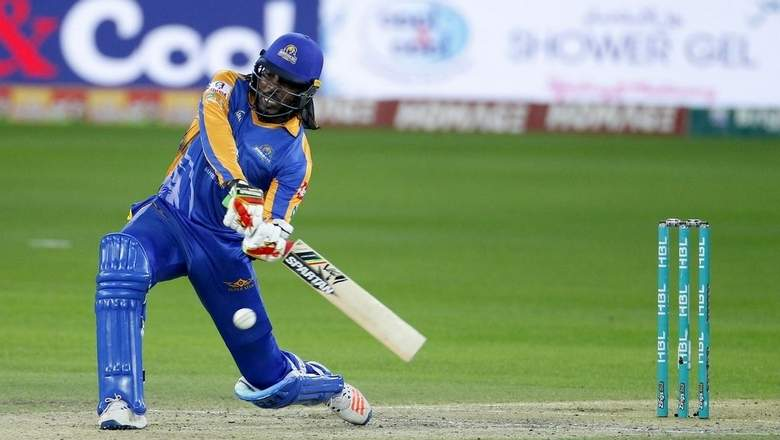 Gayle thanks fans for return to form