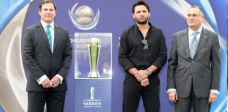 Boom Boom Afridi launches ICC Champions Trophy tour