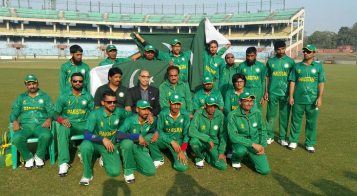 Pakistan Blind Cricket Team stands victorious against India