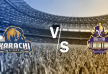 Live: Karachi Kings take on Quetta Gladiators