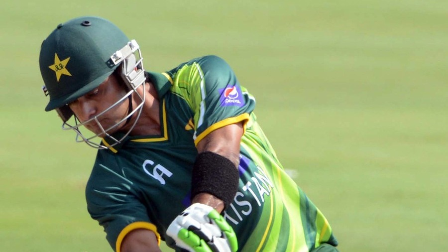 PRETORIA, SOUTH AFRICA - MARCH 03, Mohammad Hafeez of Pakistan during the 2nd T20 match between South Africa and Pakistan at SuperSport Park on March 03, 2013 in Pretoria, South Africa Photo by Lee Warren / Gallo Images