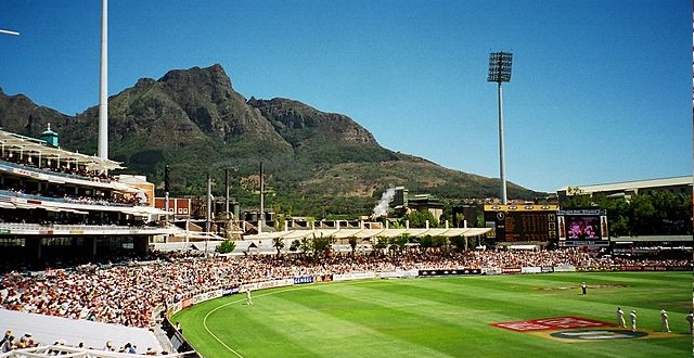 Newlands, Cape Town cricket ground south africa