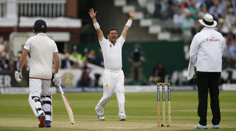 Britain Cricket - England v Pakistan - First Test - Lord's - 15/7/16 Pakistan's Yasir Shah appeals for the wicket of England's Moeen Ali Action Images via Reuters / Andrew Boyers Livepic EDITORIAL USE ONLY.