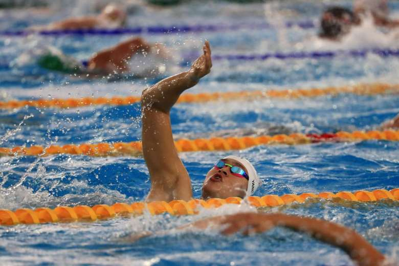 Swimming Pool Action : Rio rocks into action with swimming rugby in spotlight