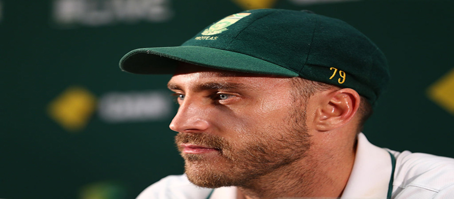 Du Plessis' hearing postponed, will play Adelaide test
