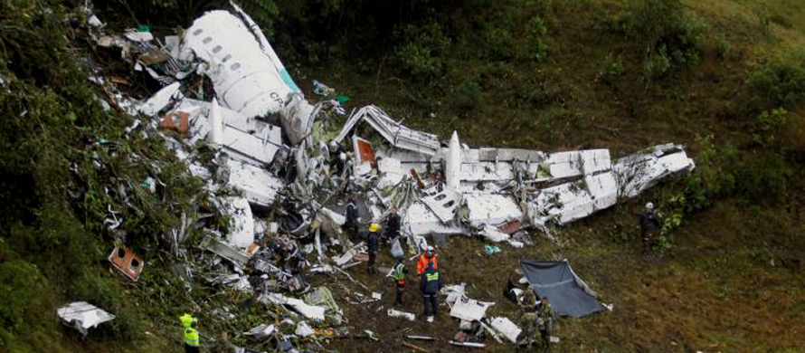 Football crash survivors treated in Colombia as investigation begins
