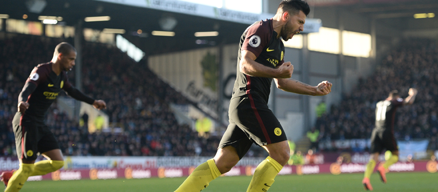 Aguero double seals City fightback