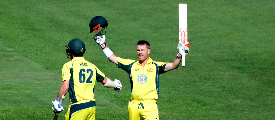 Warner man of the series as Australia thrash New Zealand
