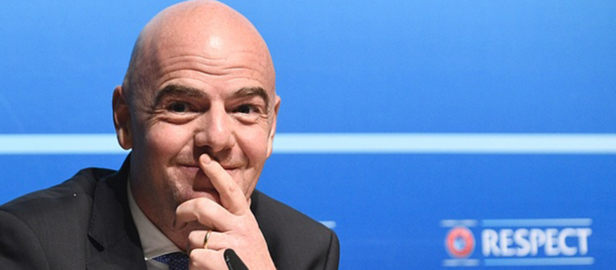 FIFA boss wants video refs at 2018 World Cup
