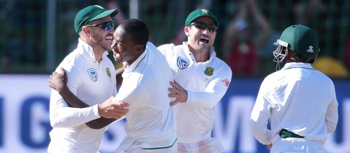 Rabada double gives South Africa sight of victory