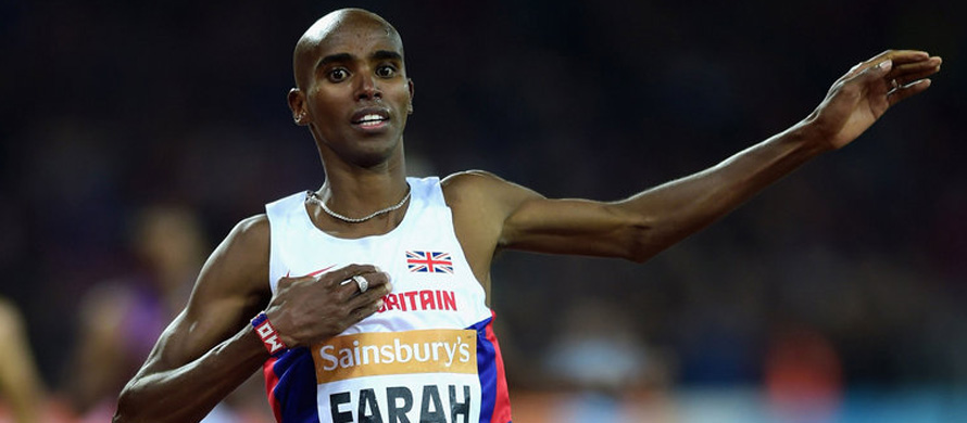 Farah has marathon in his sights