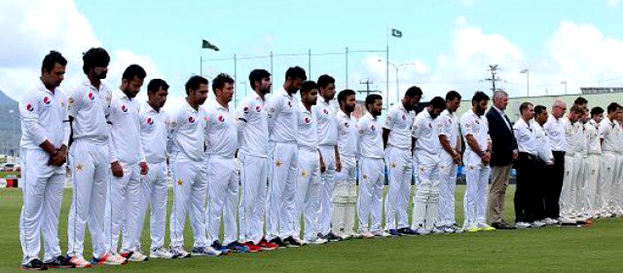 Pakistan, CA XI players observe minute's silence for PIA crash victims