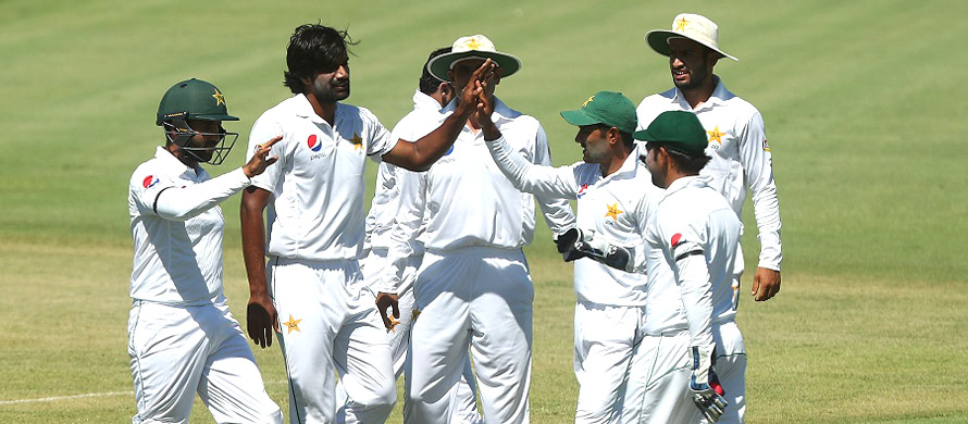 Pakistan on top of CA XI, but struggle under lights