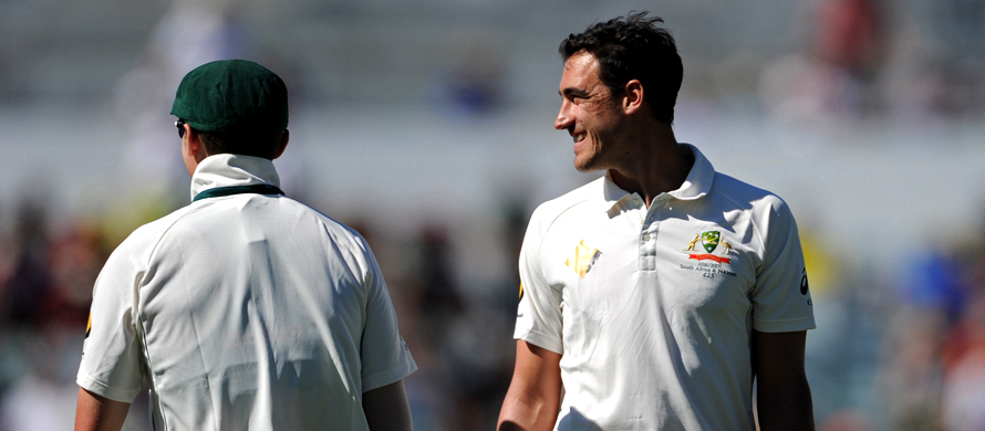 Starc fires bouncer at Arthur before Brisbane Test