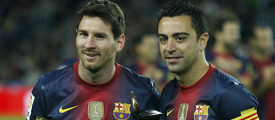 Xavi confident Messi will stay at Barcelona