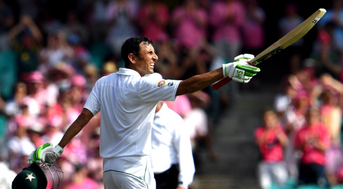 Younis's debut Australia Test ton keeps Pakistan alive