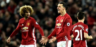 United's Ibrahimovic strikes late to rescue Liverpool draw