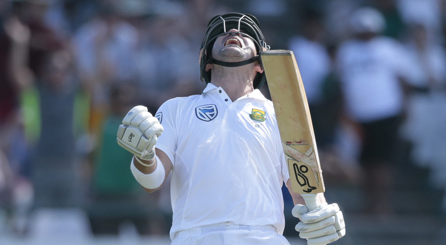 Elgar century leads South Africa fightback