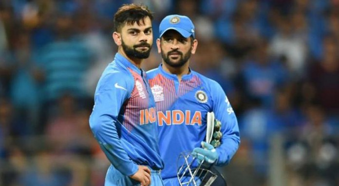 India's Dhoni says team will see even more success under Kohli