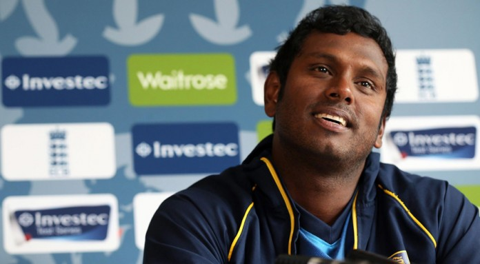 Sri Lanka back Mathews as captain until 2019 World Cup
